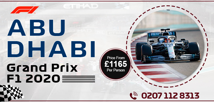 Book abu dhabi grand prix travel packages and abu dhabi f1 package deals